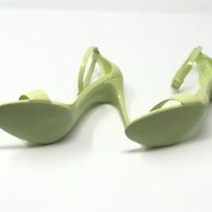 fae0add33c8 Aldo Shoes - Mint Green Low Heel Dress Sandals 7.5